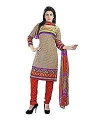 Rudra Fashion Leon Crepe Unstitched Dress Material - B0146Q8EYW