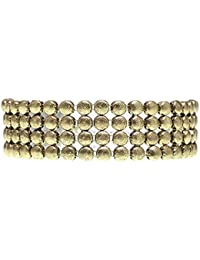 """Young & Forever """"Trendsetter Collection"""" All That Jazz Textured Rivets Necklace For Women And Girls By CrazeeMania..."""