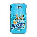 FUSON Designer Back Case Cover For Samsung Galaxy J5(2017) (caligraphy Text Font Sentense Water )