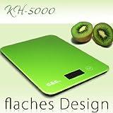 G&G KH8000-Grün AAA Küchenwaage -
