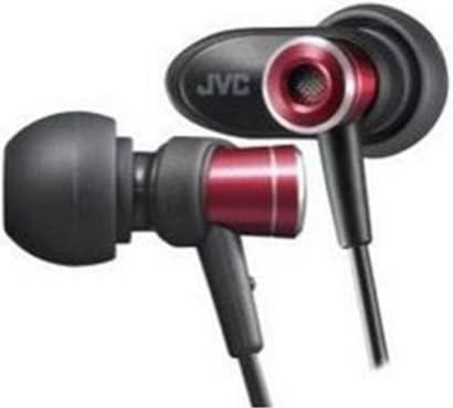 JVC HA-FXC51-Rカナル型イヤホン レッド