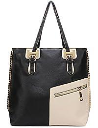 Retro Simple Large Women Shoulder Bag Diagonal Zipper Handbag