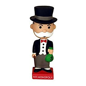 Click to buy Mr. Monopoly Guy Wacky Wobbler from Amazon!