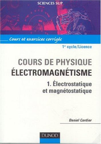 APPLICATIONS FONDEMENTS TÉLÉCHARGER ELECTROMAGNETISME ET