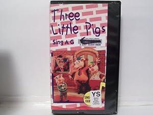 Amazon.com: Three Little Pigs Sing a Gig VHS: John ...