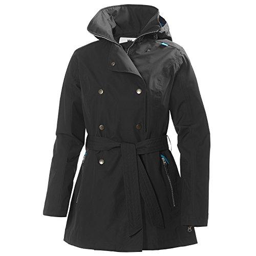 Helly Hansen Welsey Trench Jacket - Women's Ebony Large