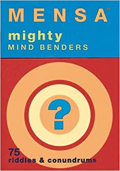 Mensa Riddles & Conundrums: Chronicle Books Staff