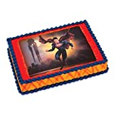 Superman Man of Steel Edible Icing Cake Topper
