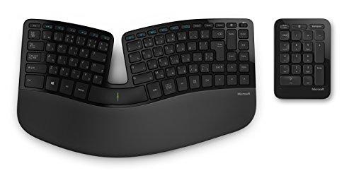 マイクロソフト [人間工学] ワイヤレス キーボード Sculpt Ergonomic Keyboard for Business USB Port 5KV-00006
