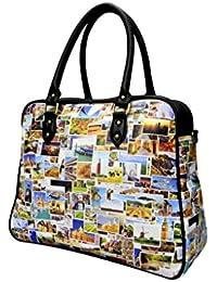 Digitally Printed Multi Stylish Cabin Carry Bags With Multi Pocket - B01ICTCVFW