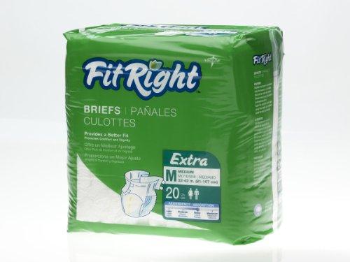 FITEXTRAMD - FitRight Extra Briefs,Medium
