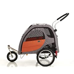 Petego Stroller Conversion Kit for Comfort Wagon Pet Bicycle Trailer Large