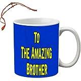 MeSleep To The Amazing Brother Rakhi Mug With Beautiful Rakhi's