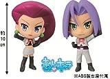 Characters Pokemon Team Rocket Prize Musashi and Kojiro set of 2 N lottery matter most (japan import) by Banpresto