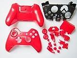 gotor® マイクロソフト Microsoft Xbox one対応交換用コントローラプロテクトカバー+ボタンセット+スティックセット+方向キー (レッド)