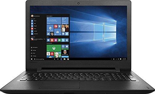 Lenovo IdeaPad110 15.6-Inch HD Laptop (Intel Celeron N3060 Dual-Core Processor, 4GB RAM, 500GB HDD, Windows 10), Black