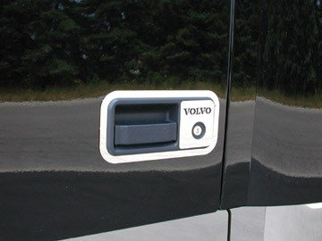 Volvo Truck Door Handle Chrome Trim and Key Guards