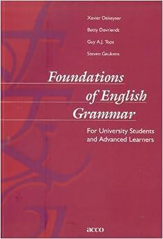 Foundations of English