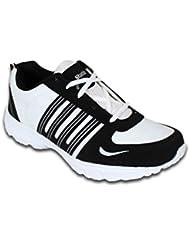 SMITHWEAR White & Black Sport Shoes