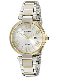 Seiko Women's SUT174 Analog Display Japanese Quartz Two Tone Watch