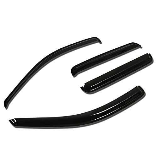 Jeep Grand Cherokee WJ 4pcs Window Vent Visor Deflector Rain Guard (Dark Smoke)