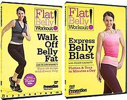 Amazon.com: Flat Belly Workout 2 DVD Set: Movies & TV