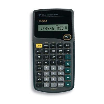 ti 30xa scientific calculator 10