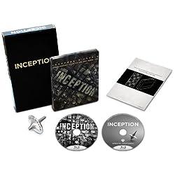 【Amazon.co.jp限定】 インセプション (ジャパンオリジナル スチールブック仕様) トーテム(コマ)と「夢共有装置」取扱説明書付き[ 完全数量限定 ] [Blu-ray]