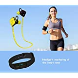 Waterproof Heart Rate Monitor Smart Bracelet M2 Wrist Band OLED Fitness Tracker Pedometer For IOS Andriod MOBILE... - B071V9KG4L