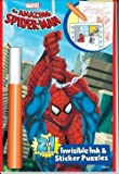 The Amazing Spider-man 2in1 Invisible Ink and Stickers Puzzle