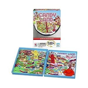 Click to buy Candy Land games: Fun on the Run travel edition from Amazon!