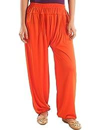 "R K Fashion Solid Viscose Lycra Harem Pant ""Waist 24-38"", Length 39"""