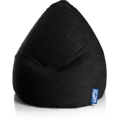 Magma Heimtex Sitzsack EASY Bean Bag XXL (Schwarz)
