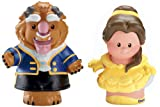 Fisher-Price Little People Disney : Belle and Beast (Set of 2)