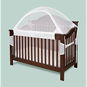 Crib Tent for Convertible Cribs White & Baby standing in crib - Scared she will fall out - BabyCenter