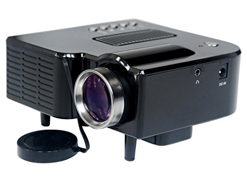 MSE Small Potable Mini-Multimedia-LCD-Image-System-LED-Projector-with-SD-USB-AV-VGA-HDMI-Port Tripod Compatible... - B07282HJW5