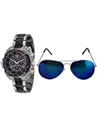 CASADO Watches -For Men -Combo Of 1 Watch + 1 Avaitor 760+5