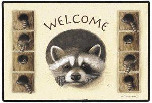 Marjolein Bastein Raccoon Doormat