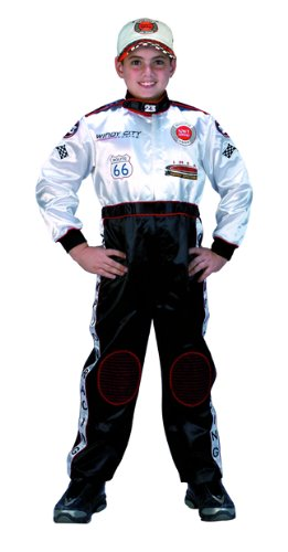 Champion Racing Suit, Black and White