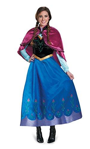 Halloween 2017 Disney Costumes Plus Size & Standard Women's Costume Characters - Women's Costume Characters DIS83163 (Ladies Plus 18-20) Anna Traveling Costume Prestige