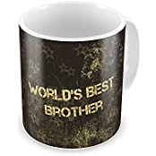 Little India World'S Best Brother Printed Coffee Mug Printed Coffee Mug For Brother