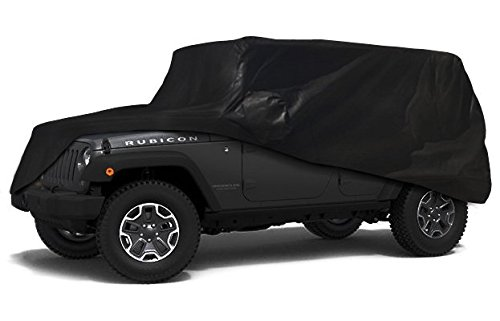 CarsCover Custom Fit 100% Sunblock 2004-2016 Jeep Wrangler Unlimited 4 Door SUV Xtrashield Car Cover