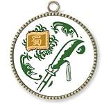 Feather strap Mon'ya Three Kingdoms Guan Yu (japan import) by Or straight grain
