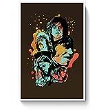 PosterGuy Poster - Pink Floyd Modern Art Painting Modern Art Painting, Op Art, Pink Floyd Music