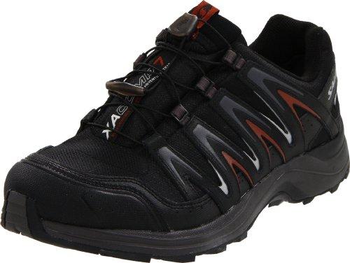 Salomon Men's XA Comp 7 WP Trail Running Shoe,Black /Autobah