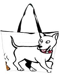 Snoogg Dog With Poo Waterproof Bag Made Of High Strength Nylon