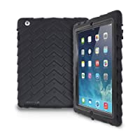 iPad 2/3/4 - Drop Tech - Ruggedized Case - Black-Black