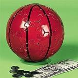 3D Basketball Sphere Puzzle Piggy Bank