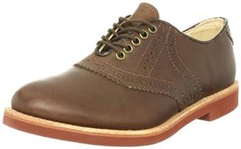Saddle Classic Oxford: Brown Waxy 32115