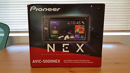 Pioneer AVIC-5000NEX In-Dash Navigation AV Receiver with 6.1